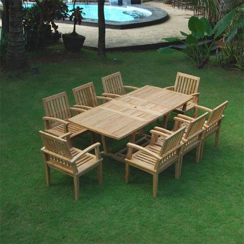 Teak wooden garden chair