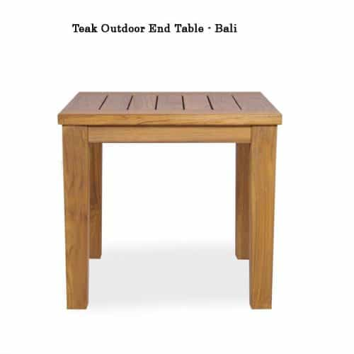 Teak outdoor side table bali