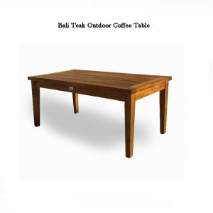 Teak Outdoor Lounge Coffee Table – Bali
