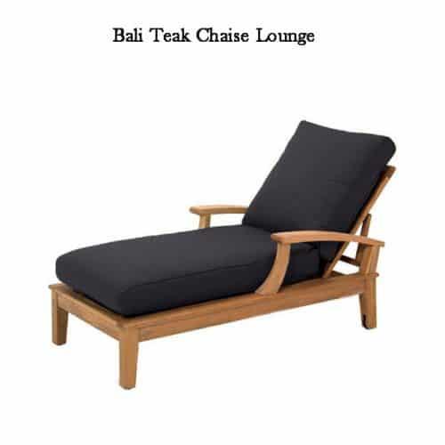 Bali teak pool chaise lounger-1