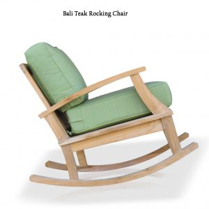 Teak Outdoor Patio Deep Seating Rocking Chair – Bali