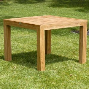 44 inch Teak Patio square Farm Table- Cornwal