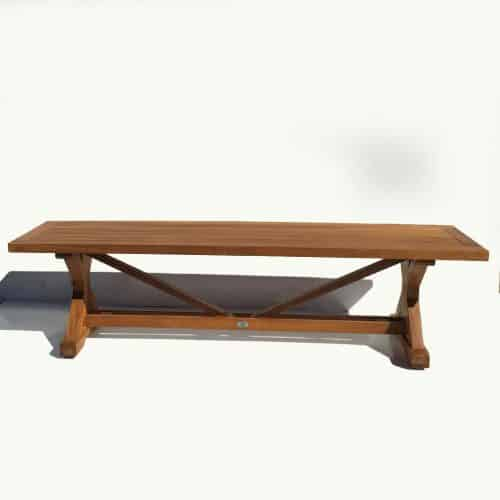 6 feet heritage backless bench