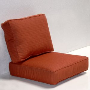 Outdoor Deep Seat Chair Cushion Pair