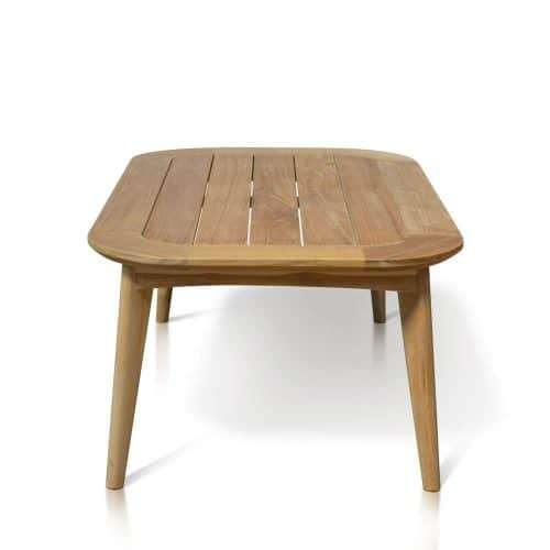 Midcentury Outdoor rectangle Coffee Table Impression