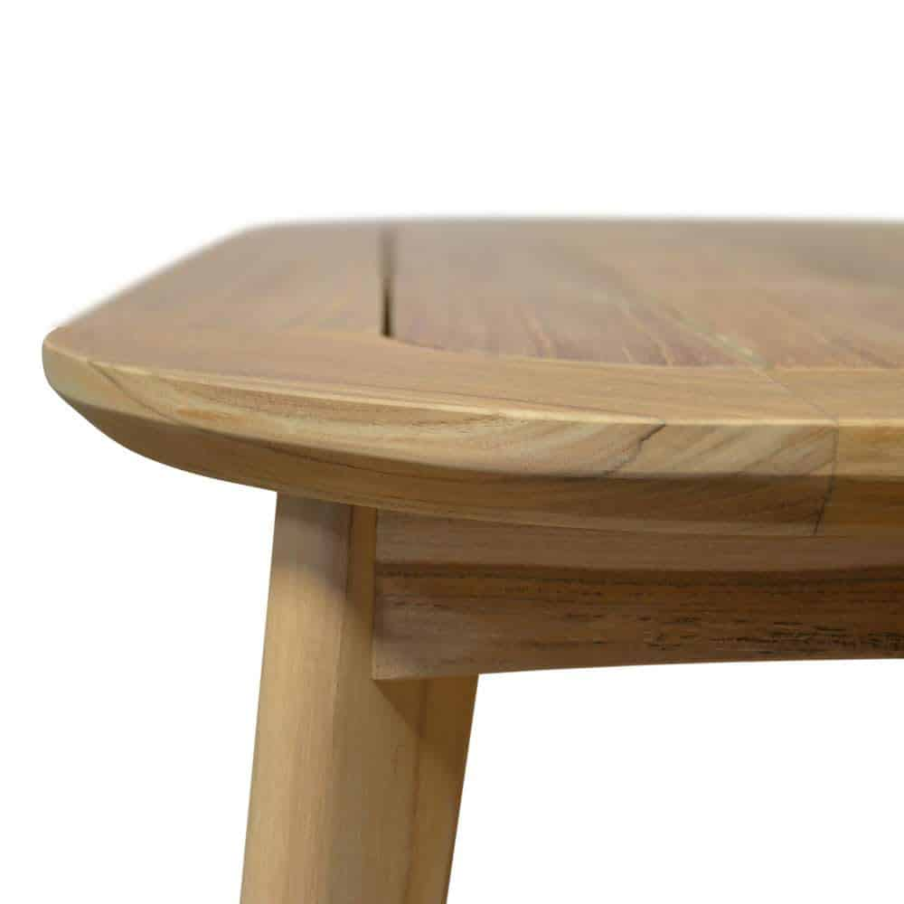 Midcentury Modern Teak Outdoor Rectangle Coffee Table ...