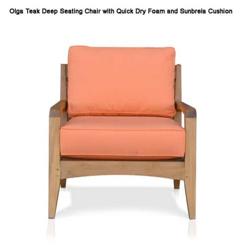 Olga deep seating chair