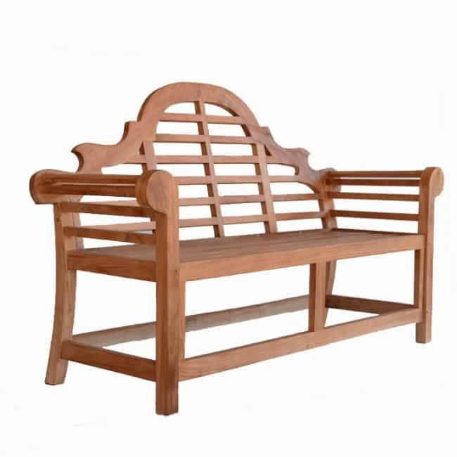 5 Feet Teak Wood Garden Bench Lutyens