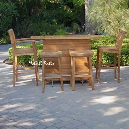 Brilliant Teak Titan Arm Bar Chair Patio Bar Stool Bralicious Painted Fabric Chair Ideas Braliciousco