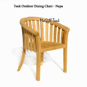 Teak wood Patio chair – Napa
