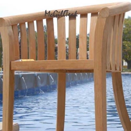 Outdoor teak chair