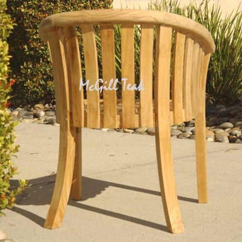 Patio chair for dining