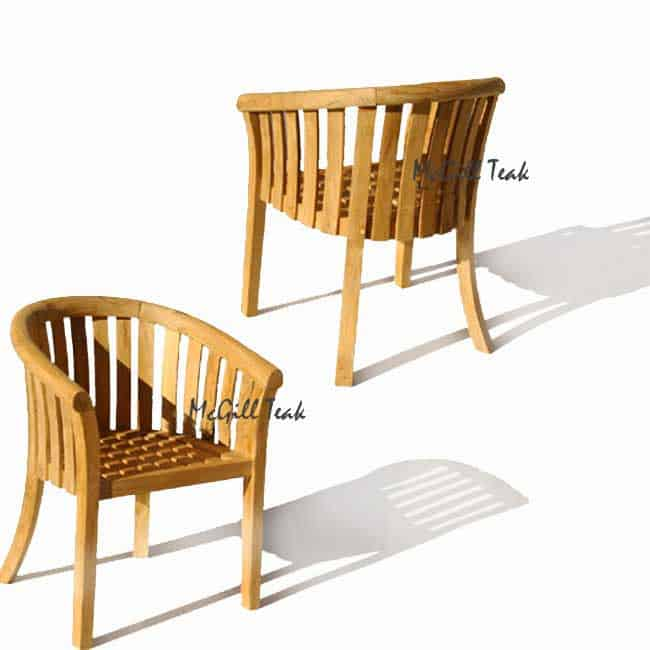 Teak Outdoor Garden Chair Napa, Smith And Hawken Teak Patio Furniture