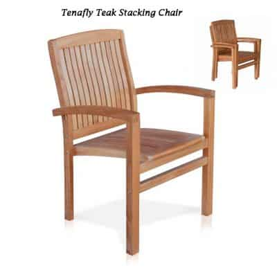 7 Pc Teak Garden Dining Set – Agean – Tenafly Collection