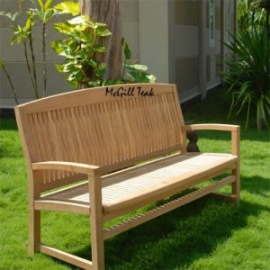 5 feet Teak Wood Outdoor Bench – Tenafly