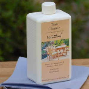 Teak Cleaner – Cleans Weathered Teak wood Furniture