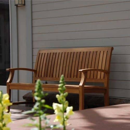 Titan teak Garden bench