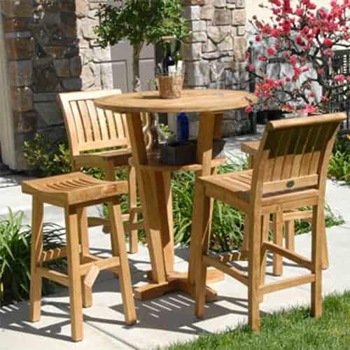 Awesome Outdoor Teak Bar Stool Wave Bralicious Painted Fabric Chair Ideas Braliciousco