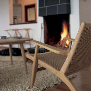 Outdoor Lounge Club Chair – The Rope Chair Natural Tan shade