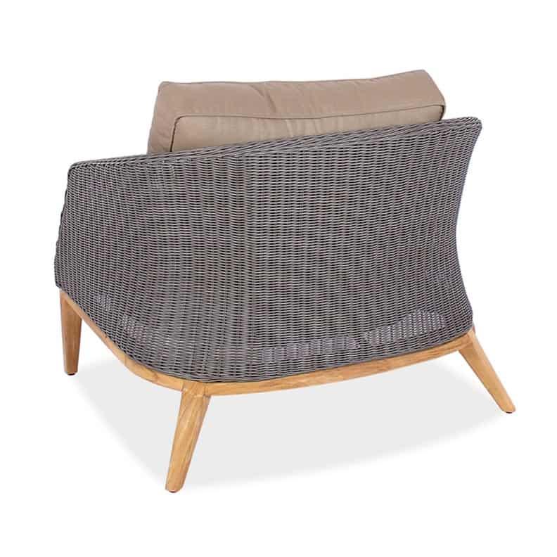 Fine Grace Wicker Teak Outdoor Club Chair Cjindustries Chair Design For Home Cjindustriesco