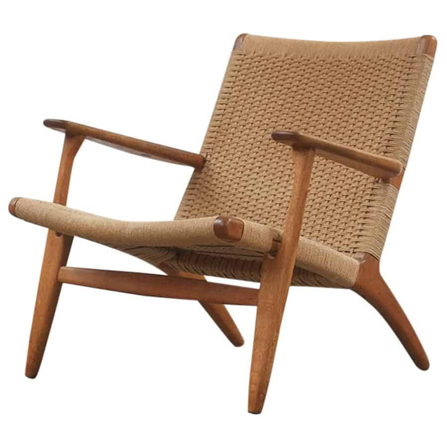 Outdoor Lounge Club Chair The Rope Chair Natural Tan