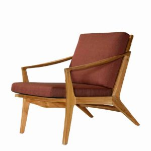 Outdoor Indoor Teak Lounge Club Chair – Bergen