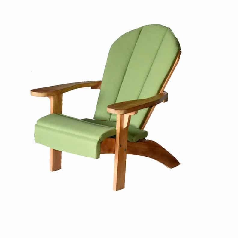 Peachy Teak Adirondack Chair With Ottoman Gmtry Best Dining Table And Chair Ideas Images Gmtryco