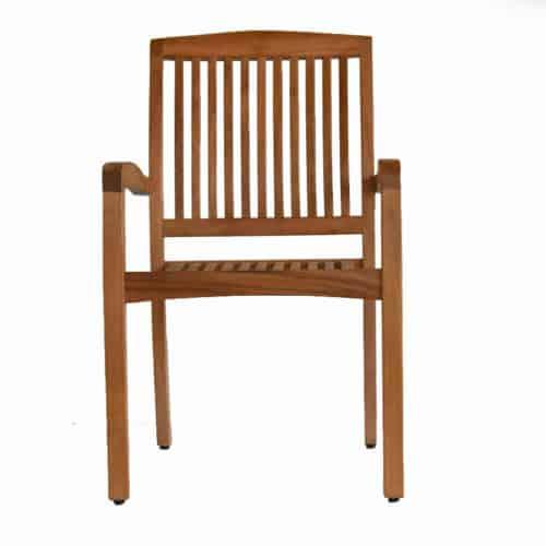 Blaze Teak wood outdoor dining chair
