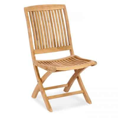 Teak Outdoor Folding Side Chair – Blaze End Chair