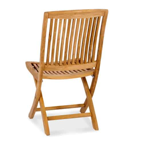 Teak-folding-side chair