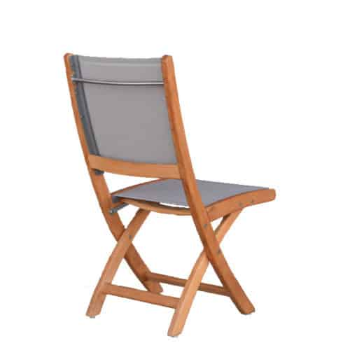 Sling patio folding chair