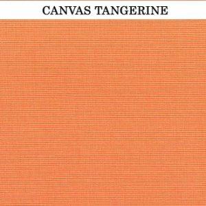 Sunbrella Tangerine cushion
