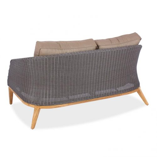 Modern high end wicker lounge seating