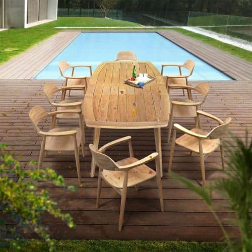 Teak Outdoor dining set Expression 1