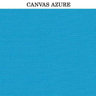 sunbrella cushion with canvas azure