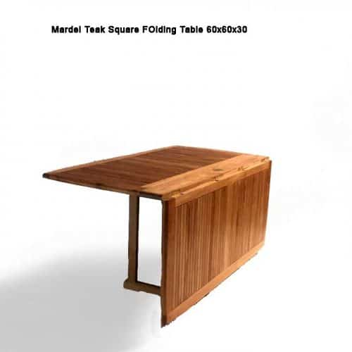 Mardel Teak square table