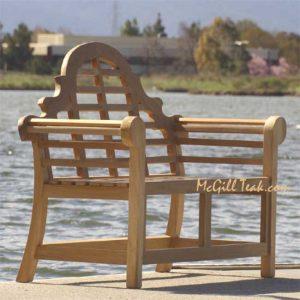 5 feet Teak Wood Garden Bench – Lutyens