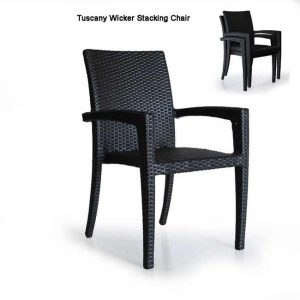 Wicker Outdoor Dining Chair – Tuscany