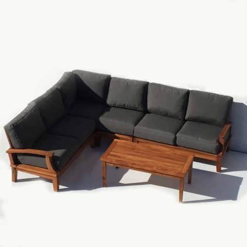 Deepseat L-shape corner sofa