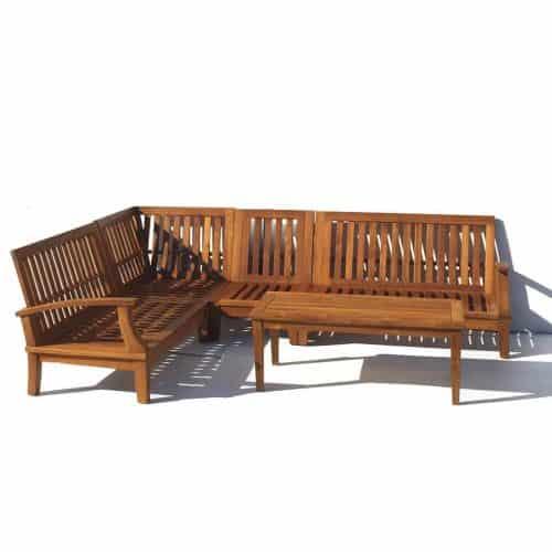 Bali Deep seat Sofa set L-shape