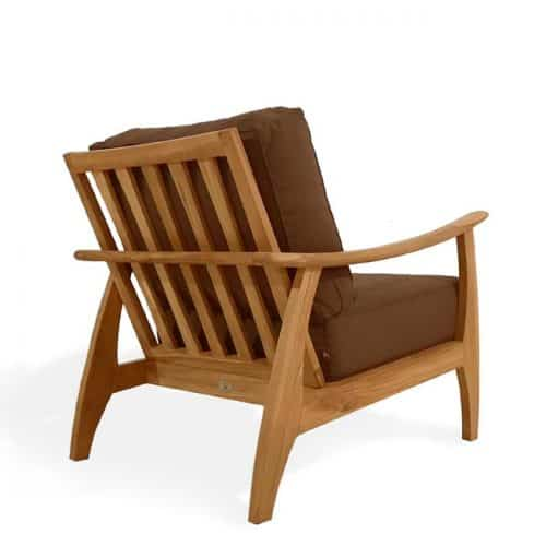 Mid century outdoor club chair