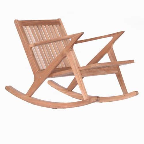 Mid-Century Outdoor rocking chair
