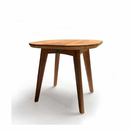 Mid-century side square table- Impression