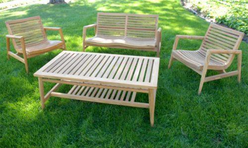 Mid centruy outdoor conversation set