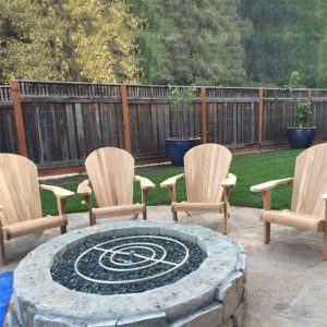 4 pc Adirondack Chair Lounge Set