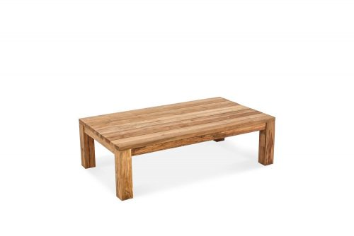 Recycled teak coffee table