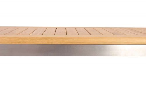 Teak-steekl-siro-backless-bench-Alzette-3