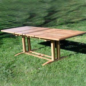 Teak outdoor furniture Extension table